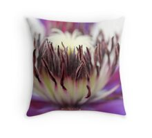 Floral center Throw Pillow