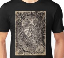 Diffracted (cavern dweller) by Brian Benson Unisex T-Shirt