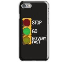 GO FAST iPhone Case/Skin