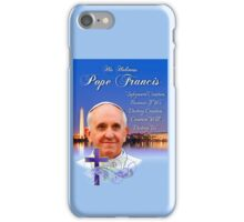 Pope Francis Headshot 4 iPhone Case/Skin