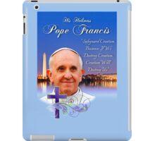 Pope Francis Headshot 4 iPad Case/Skin
