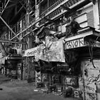 Abandoned Factory - Interior by Colin  Ewington