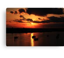 Sunrise over San Carlos Island Canvas Print