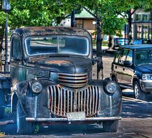 The Old Truck by Bob Vaughan