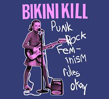 BIKINI KILL Punk Rock Feminism (Version 2) Unisex T-Shirt