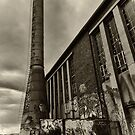 Abandoned Factory - Exterior by Colin  Ewington