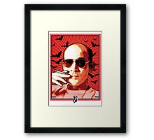 FH01 - Hunter S Thompson Framed Print