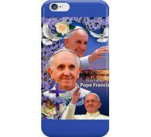 Pope Francis Headshot 6 iPhone Case/Skin
