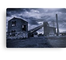 Abandoned Factory - Exterior Metal Print