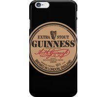 Old Style Guinness Logo - David Gilmour iPhone Case/Skin