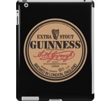 Old Style Guinness Logo - David Gilmour iPad Case/Skin