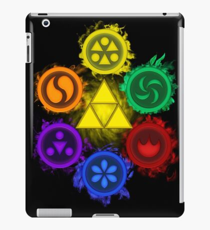 Legend of Zelda - Ocarina of Time - The 6 Sages iPad Case/Skin