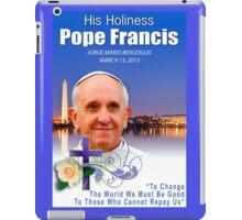 Pope Francis Headshot 7 iPad Case/Skin