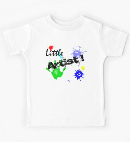 Little Artist (for Kids) Kids Tee