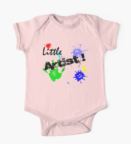 Little Artist (for Kids) One Piece - Short Sleeve