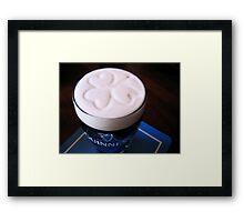 How Guinness should be served... Framed Print