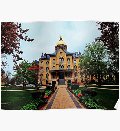 Notre Dame University Poster