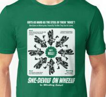 SHE DEVILS ON WHEELS Herschell Gordon Lewis Unisex T-Shirt