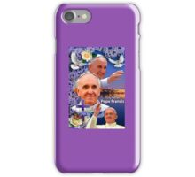 Pope Francis Headshot 8 iPhone Case/Skin