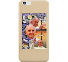 Pope Francis Headshot 9 iPhone Case/Skin