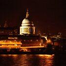 St Paul's By Night (London, UK) by Skye Ryan-Evans
