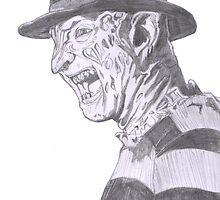 Freddy Krueger No Background by Qutone