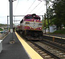 1125 MBTA Commuter Rail by Eric Sanford