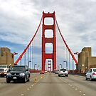 Crossing the Golden Gate by Bryan Peterson