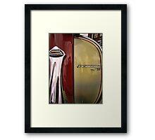 lambretta tv175 Framed Print