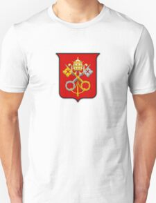 The crossed keys coat of arms on white T-Shirt