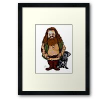 WIZARD FROM HP WORLD Framed Print