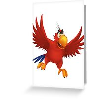 Iago Greeting Card