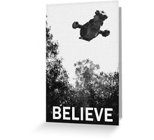 Believe - Serenity Greeting Card
