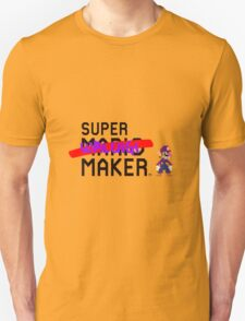 Super Waluigi Maker T-Shirt