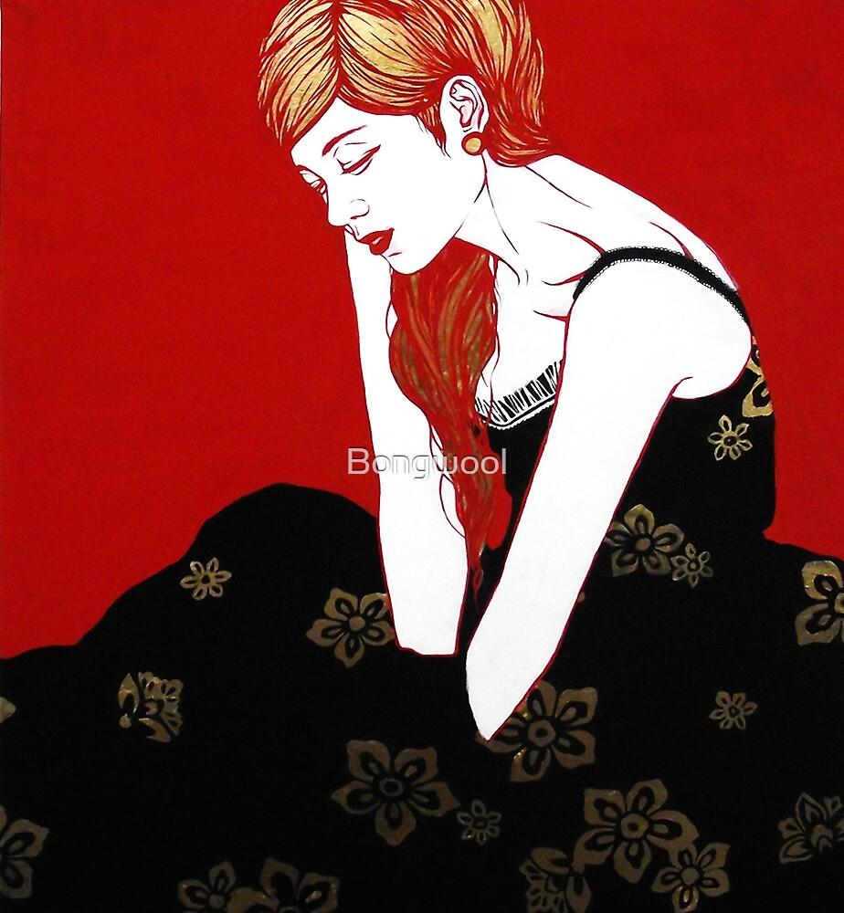 Blond SnowWhite by Bongwool