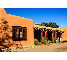 Santa Fe Store Front Photographic Print