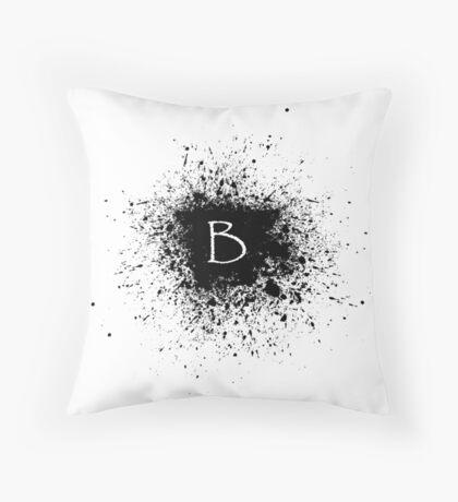 B SPLOTCH Throw Pillow