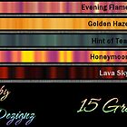 Sunset Gradient Pack 1 by Jaclyn Hughes