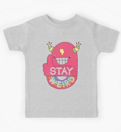 STAY WEIRD! Kids Tee