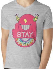 STAY WEIRD! Mens V-Neck T-Shirt