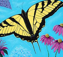 Yellow Swallowtail by Kirsten Sneath
