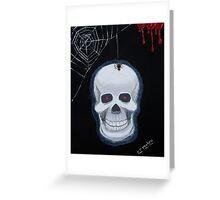 Rick Eddie Bones Greeting Card