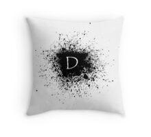 D SPLOTCHES Throw Pillow