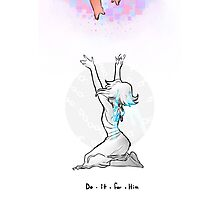Do it for Him - Lapis Lazuli Photographic Print