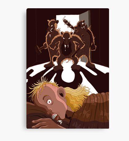 Good morning, Goldimullet!  Canvas Print
