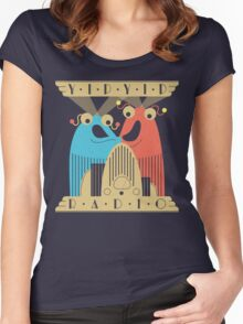 Yip-Yip Discover Radio! Women's Fitted Scoop T-Shirt