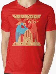 Yip-Yip Discover Radio! Mens V-Neck T-Shirt