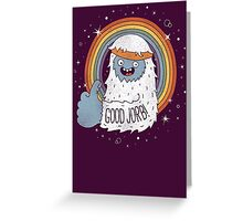 GOOD JORB! Greeting Card