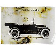 1916 Cadillac Poster