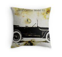 1916 Cadillac Throw Pillow